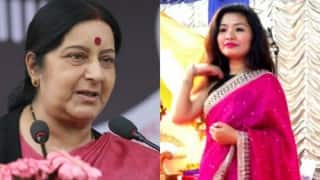 Sushma Swaraj issues Twitter apology to Manipuri woman Monika Khangembam who alleged racism by immigration officer