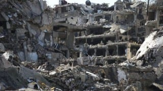 Schoolchildren among 35 dead in Syria raids: monitor