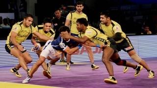 प्रो कबड्डी लीग: बंगाल और टाइटंस का मैच टाई