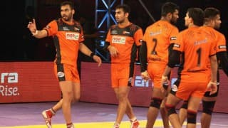 Mumba win: Pro Kabaddi Live Score U Mumba vs Dabang Delhi: Catch Live scorecard of U Mumba vs Dabang Delhi, Match 56