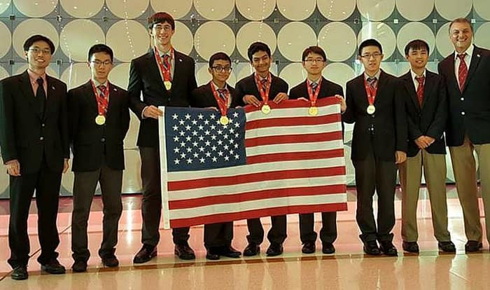 U S  Team Beats 108 Countries to Win International Math Olympiad