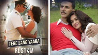 Akshay Kumar's 'Rustom' Mesmerizes With New Song, 'Tere Sang Yaara'