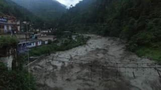 Uttarakhand cloudburst: Water level at major rivers rise above danger mark