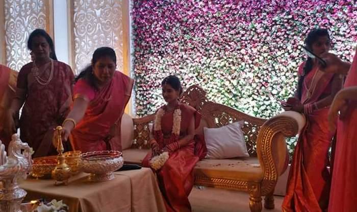 SEE PICS: Vikram's daughter Akshita gets engaged to long-time boyfriend Manu Ranjith