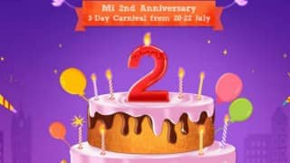 Xiaomi 2nd aaniversary sale: Flash sale to offer phones at Re 1