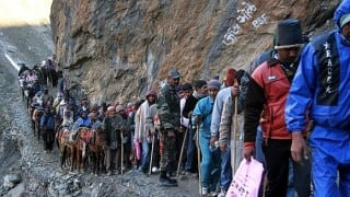 Amarnath yatra resumes from Jammu after two days of suspension