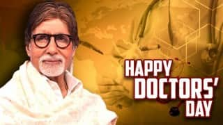 Doctors' Day message: Did Amitabh Bachchan thank doctors for saving his life after Coolie accident?