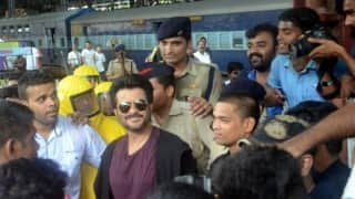 OMG! Anil Kapoor's local train stunt for 24 invites notice from Western Railway!