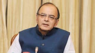 Arun Jaitley sees personal assets decline by Rs 2.83 crore in FY16
