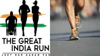 The Great India Run to kick off at India Gate tomorrow