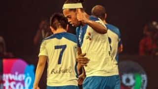 Premier Futsal: Ronaldinho's fifer hands Goa thumping 7-2 win over Bengaluru