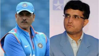 Saurav Ganguly and Ravi Shastri may not be seen in the commentary box together again