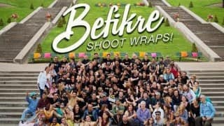 Befikre: Rani Mukerji and Aditya Chopra pose together with entire unit! Spot them!