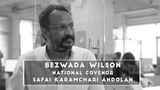 Magsaysay award winner Bezwada Wilson accuses upper castes of oppressing Dalits, demands Government to save 'democracy'
