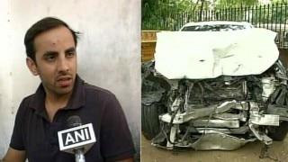 Jaipur: BJP MLA Nand Kishor's son mows down three with his BMW car