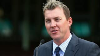 Brett Lee spends a day with fans in Mumbai