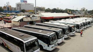 Karnataka: KSRTC, BMTC bus strike continues for 3rd day despite ESMA threat, schools remain shut