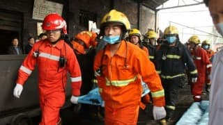 22 workers trapped after coal mine accident in China