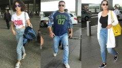 सलमान खान, कंगना रानावत और सानिया मिर्ज़ा हुए मुंबई एअरपोर्ट पर स्पॉट