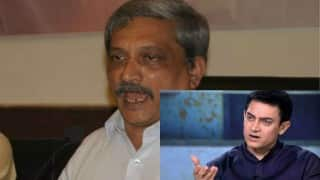 Congress attacks Manohar Parrikar over remarks against Aamir Khan