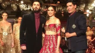 The Persian Story: Deepika Padukone, Fawad Khan turn stunning muse for Manish Malhotra at ICW 2016