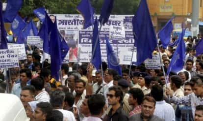 Dalit riots: Angry protesters in Una blame Narendra Modi, BJP and Hindutva for thrashing four Schedule Caste men