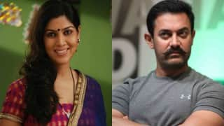 Do you know what Sakshi Tanwar thinks about her reel life husband Aamir Khan?