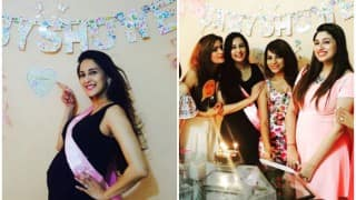 Cuteness Alert! Sneak peek into Bade Acche Lagte Hain actress Chahat Khanna baby shower