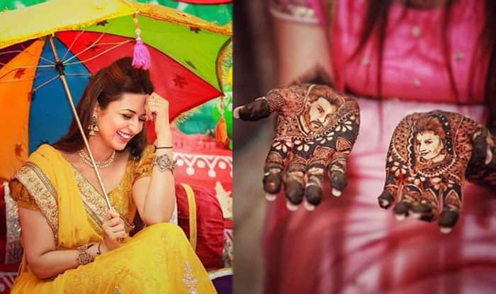 Divyanka Tripathi\u0027 pre,wedding photos Bride\u0027s Haldi and