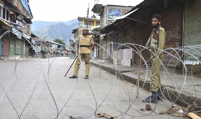 Only Kashmiris can decide their future, India told
