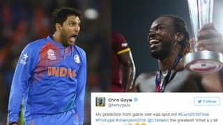 Euro 2016 Final: Yuvraj Singh, Chris Gayle and other cricketers celebrate Portugal's win over France