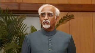 Vice President Hamid Ansari leaves for Mongolia to attend ASEM Summit