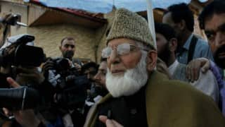 Kashmir unrest: Separatists' Anantnag march foiled; Syed Ali Shah Geelani, Mirwaiz Umar Farooq detained