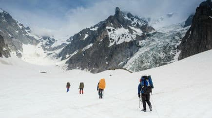 45 people to trek to the Siachen Glacier with the Indian Army