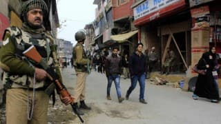 Mob tries to storm army camp in Kashmir, more forces rushed