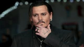 Johnny Depp's makes first red carpet appearance post split