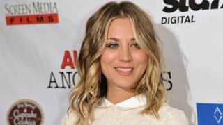 Kaley Cuoco apologises for `Dog` faux pas on American Flag