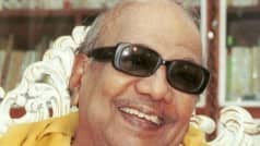 DMK Chief Karunanidhi admitted to Kauvery hospital, condition stable