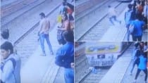 Suicide caught on camera: Man jumps in front of moving train at Bhayandar station (Graphic video)