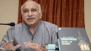 M J Akbar: from being a Congress MP to Narendra Modi's minister