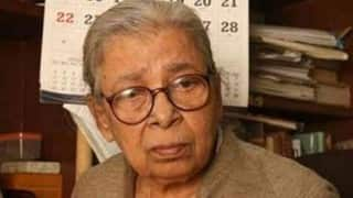 Mahasweta Devi's health deteriorates, still very critical: Doctors