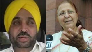 Bhagwant Maan meets Sumitra Mahajan, Lok Sabha speaker expresses 'displeasure' over parliament live streaming video
