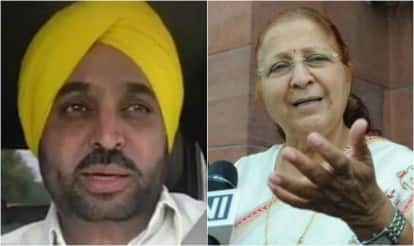 Bhagwant Maan meets Sumitra Mahajan, Lok Sabha speaker expresses