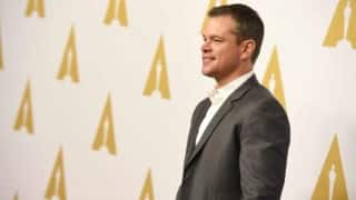 Matt Damon to take break from acting