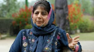 Mehbooba Mufti releases first statement on Kashmir violence: 'Where are they (Hurriyat) who provoked the people?'