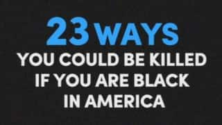 Celebrities list down 23 ways black American can be killed, in this powerful video and you need to hear them right now!