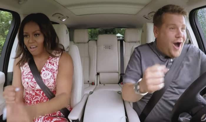 Michelle Obama featured in Carpool Karaoke with James Corden and the 'First Lady' totally nailed it!