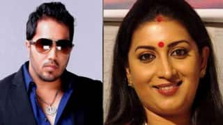 Smriti Irani dancing with Mika Singh in this music video is the perfect flashback for all! (Watch)