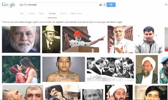 Narendra Modi In Top 10 Criminals List Google Gets Court Notice