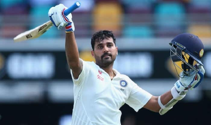 Murali Vijay Suffers Thumb Injury, Ruled Out Of Second